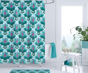 etsy, shower curtain, and shower curtains image