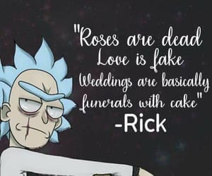 rick and morty and quotes image