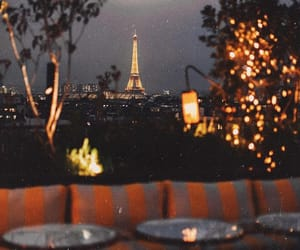 paris, lights, and night image