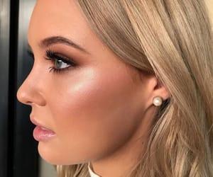 beauty, natural, and smoky eye image