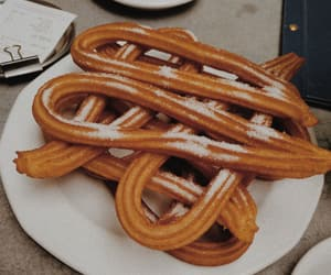 aesthetic, churros, and food image