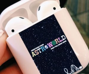 air, pods, and astroworld image