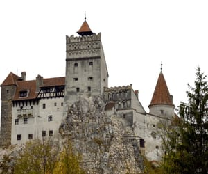 bran castle, Dracula, and romania image