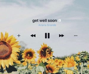 aesthetic, flowers, and Lyrics image