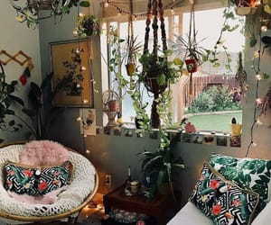 bohemian, decor, and house image