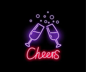 cheers and neon image