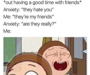 anxiety, cartoon, and fun image