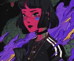 anime, art, and colorful image
