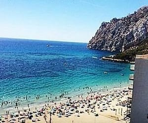 beach, alicante, and spain image