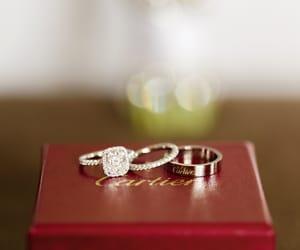 diamond and wedding ring image