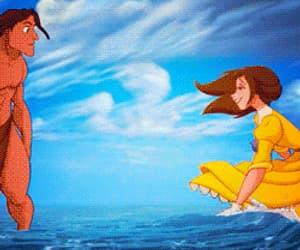 disney, gif, and animated movies image