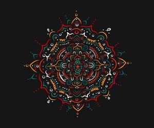 color, tumblr, and mandala image