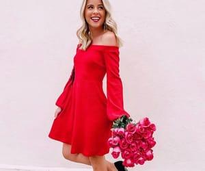 Valentine's Day, dress, and flirty image