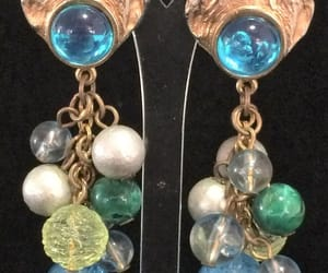 glass beads, clip on, and bohemian festival image