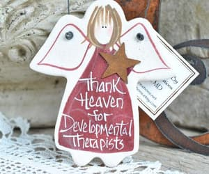 christmas ornaments, saltdoughornaments, and etsy image