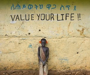 life, poor, and value image