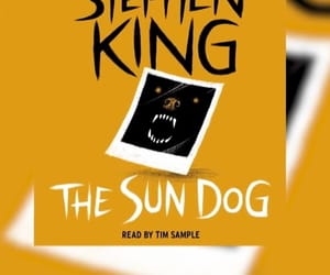 Stephen King, thriller, and the sun dog image