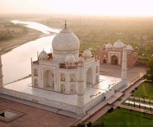 india, photography, and taj mahal image