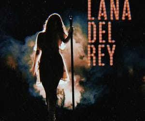 concert and lana del rey image