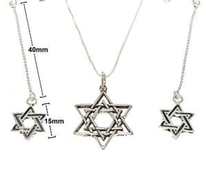 chain, charm, and earrings image