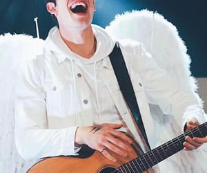shawn mendes, angel, and shawn image