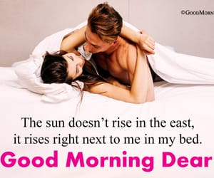 good morning for bf, good morning for gf, and morning love sayings image