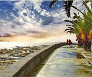 ciel, palmiers, and corse image