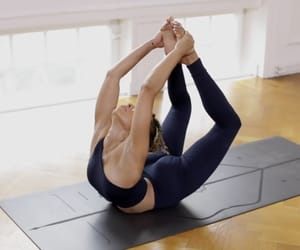 backbend, dance, and fitness image