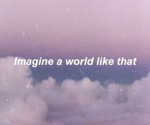 imagine, purple, and wallpaper image