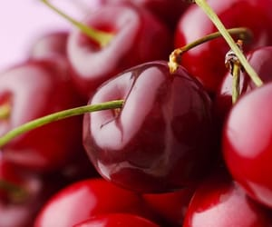 cherry, yummy, and red fruit image