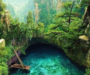 blue, paradise, and wanderlust image