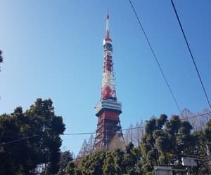 blue sky, green, and japan image