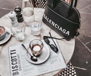 Balenciaga, coffee, and breakfast image