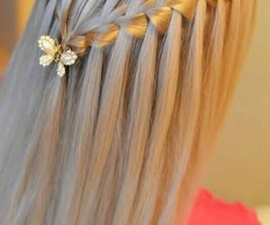 corona, hairstyle, and trenzas image