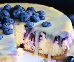 blueberry, dessert, and sweet image