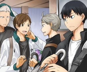 anime, handsome, and haikyuu image