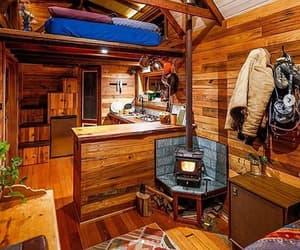 modern wood stove, tiny house wood stove, and tiny wood stove image