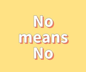 always, no means no, and feminism image