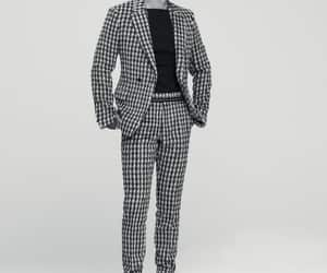 actor, korean fashion, and black and white image