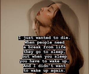 depression, girl, and life image