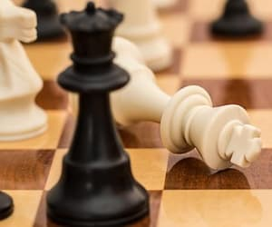 background and chess image