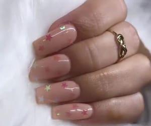 girly, long, and nail art image