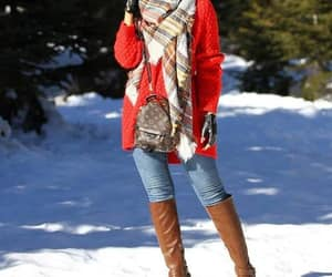 scarf outfit image