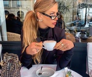 blonde hair, hair, and latte image