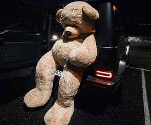 bear, car, and luxury image