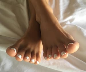 fashion, foot, and pedicure image