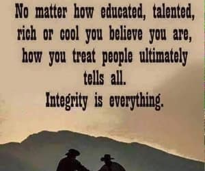 quote, how you treat people, and empowerment image