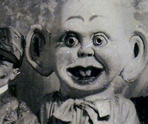 creepy, doll, and scary image
