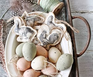 decor, spring, and easter image