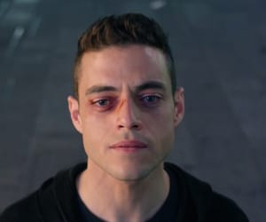 mr robot, elliot, and bohemian rhapsody image